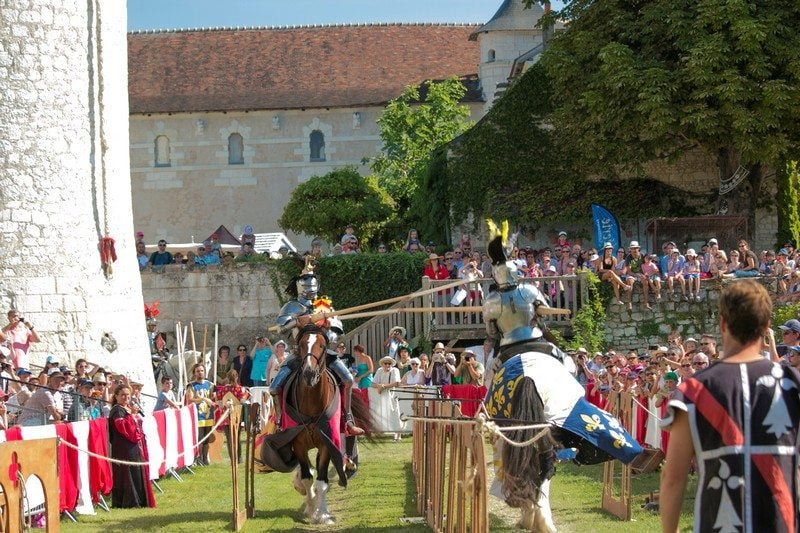 joutes médiévales