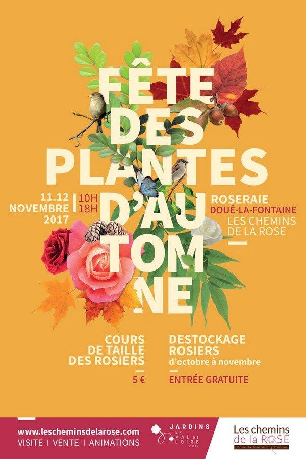 F te des plantes d 39 automne aux chemins de la rose h tel - Plantes fleuries d automne ...